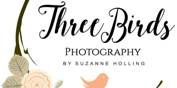 3 Birds Photography Logo